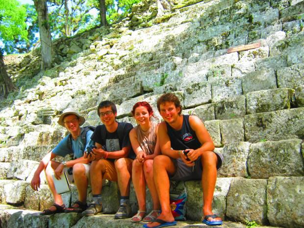 Copan ruinas - mayan ruins in Honduras!