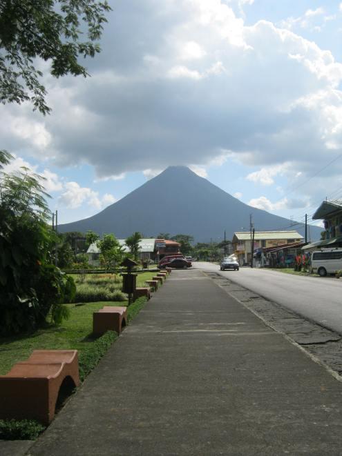 Volcano at Monte verde Costa Rica