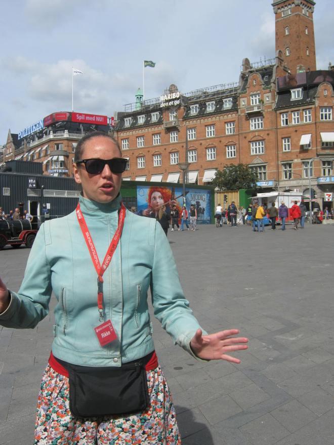 Taking a tour of copenhagen