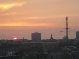 Sunset and Tivoli!