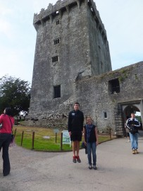 Tess, Dave and Blarney Castle