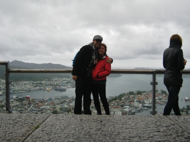 Pim and I in Bergen