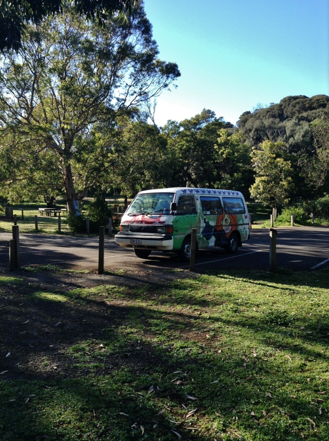Our van in all its glory, aUSTRALIA