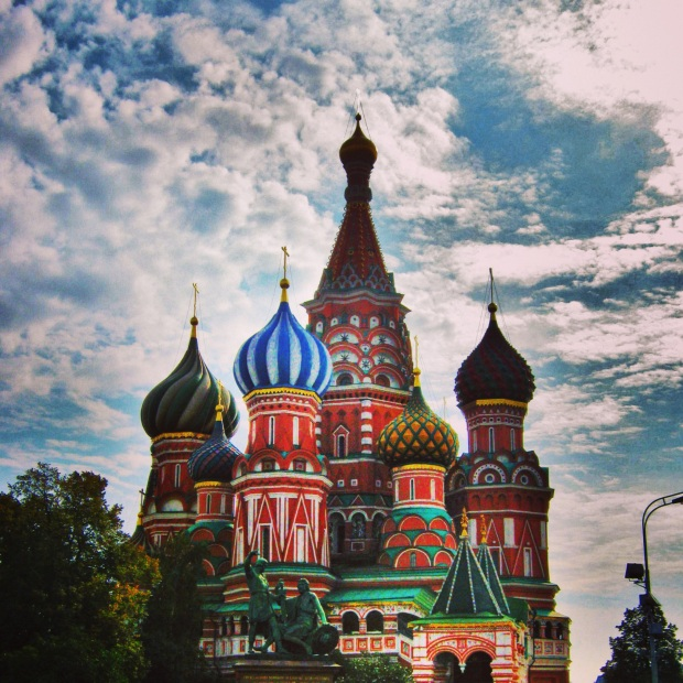 Moscow St Basil's Cathedral
