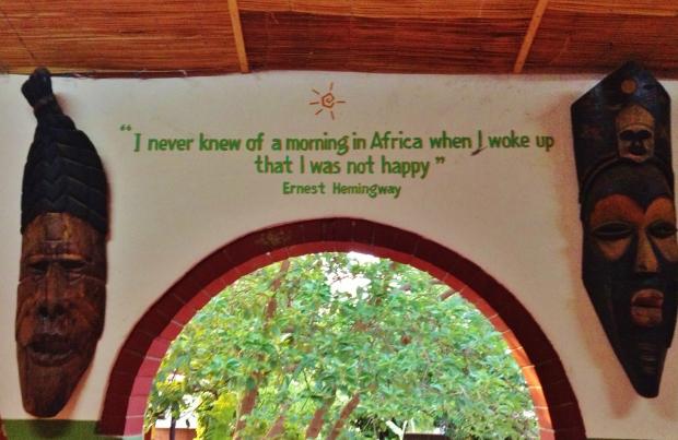 Jollyboys hostel in Zambia