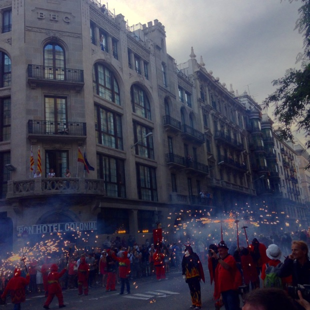 Correr Foc Barcelona