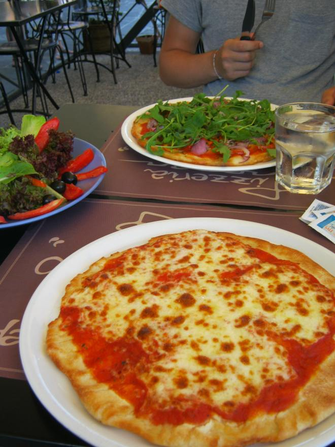 Italian Pizza in Italy - making everything awesome 100% of the time