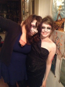 Me and my sis on Halloween!