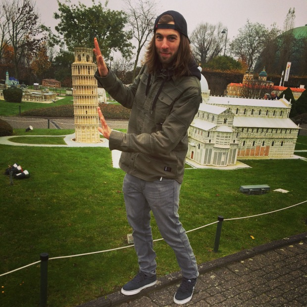 Leaning tower of Pisa - mini europe, Brussels
