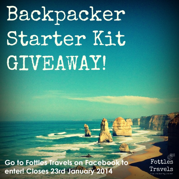 Fottles Travels Giveaway