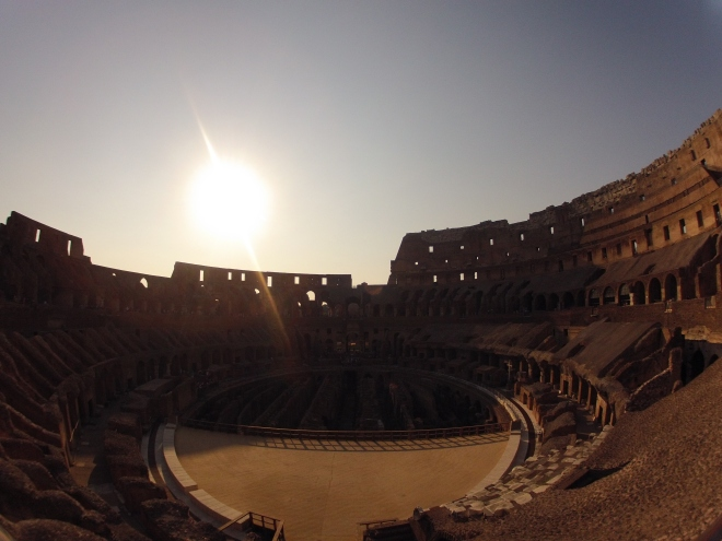 fottles-travels-Colosseum-at-sunset-rome